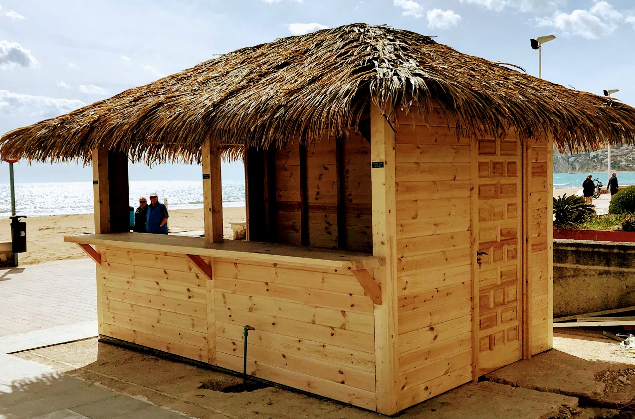 chiringuito basico playa sin camion pero si mar